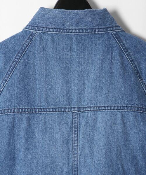 GRACE CONTINENTAL / グレースコンチネンタル Gジャン・デニムジャケット | アーミーデニムシャツジャケット | 詳細10