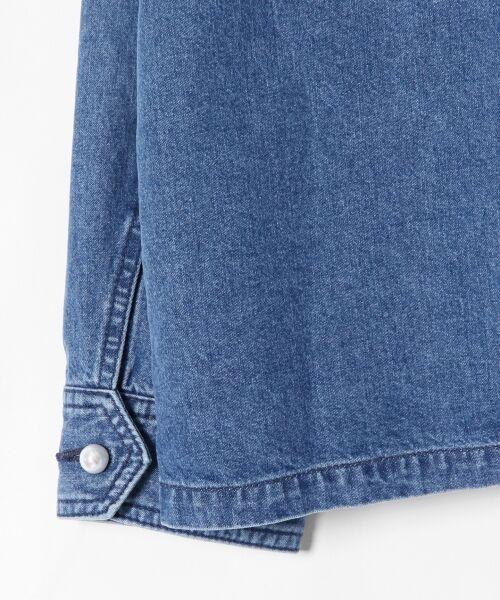 GRACE CONTINENTAL / グレースコンチネンタル Gジャン・デニムジャケット | アーミーデニムシャツジャケット | 詳細11