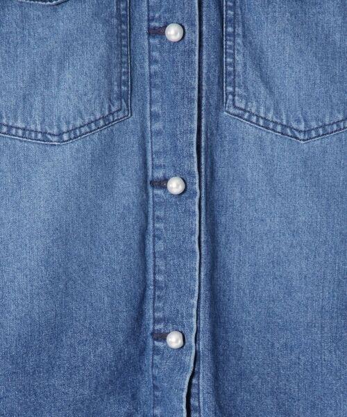 GRACE CONTINENTAL / グレースコンチネンタル Gジャン・デニムジャケット | アーミーデニムシャツジャケット | 詳細6