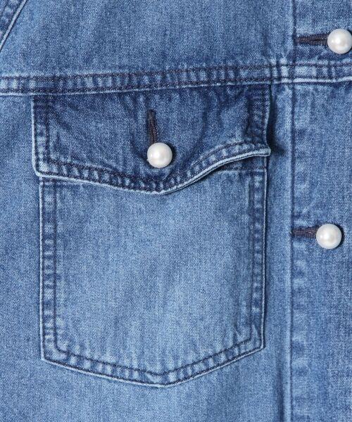 GRACE CONTINENTAL / グレースコンチネンタル Gジャン・デニムジャケット | アーミーデニムシャツジャケット | 詳細7