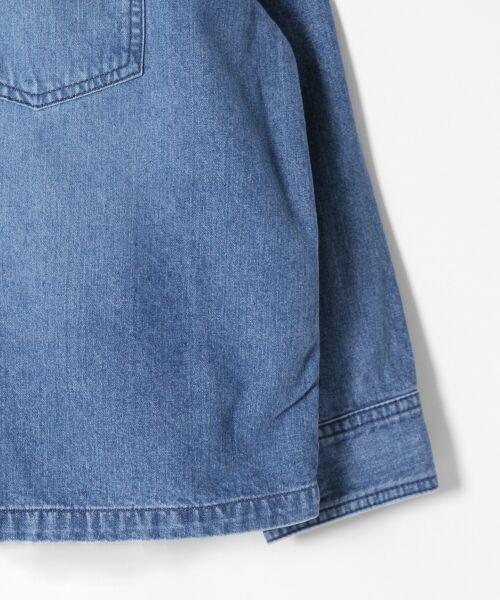 GRACE CONTINENTAL / グレースコンチネンタル Gジャン・デニムジャケット | アーミーデニムシャツジャケット | 詳細8