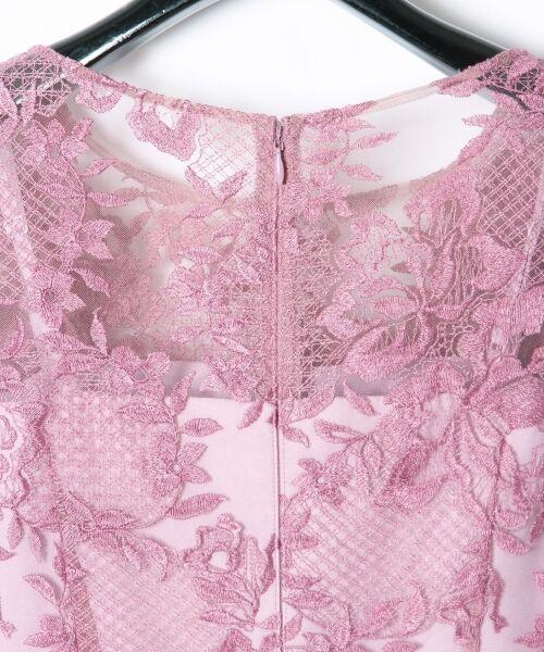 GRACE CONTINENTAL / グレースコンチネンタル ドレス | トリミングレースワンピース | 詳細7
