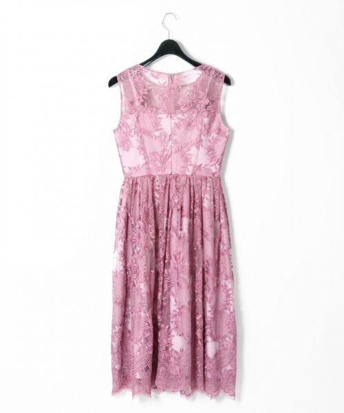 GRACE CONTINENTAL / グレースコンチネンタル ドレス | トリミングレースワンピース | 詳細9