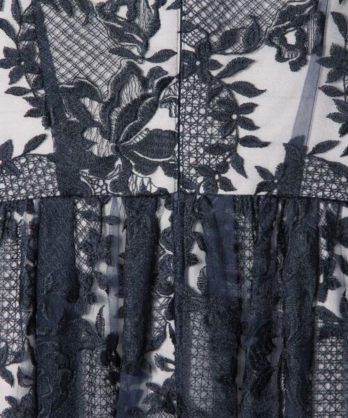 GRACE CONTINENTAL / グレースコンチネンタル ドレス | トリミングレースワンピース | 詳細13