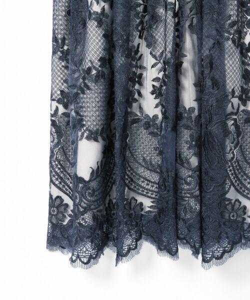 GRACE CONTINENTAL / グレースコンチネンタル ドレス | トリミングレースワンピース | 詳細14