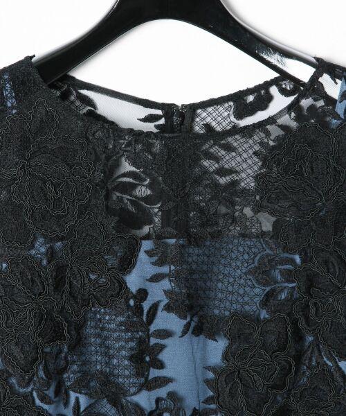 GRACE CONTINENTAL / グレースコンチネンタル ドレス | トリミングレースワンピース | 詳細16