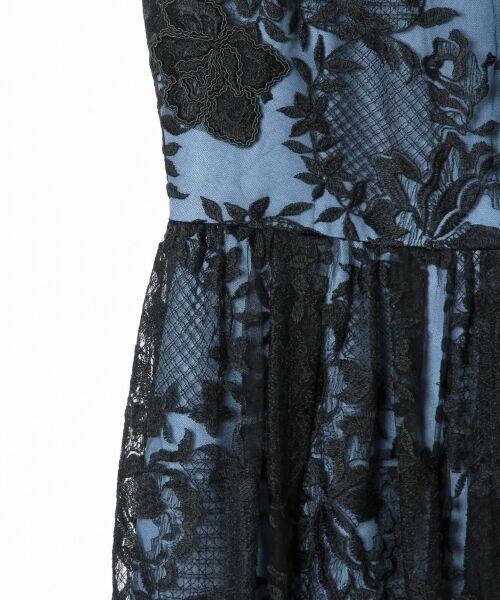 GRACE CONTINENTAL / グレースコンチネンタル ドレス | トリミングレースワンピース | 詳細17
