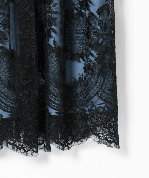 GRACE CONTINENTAL / グレースコンチネンタル ドレス | トリミングレースワンピース | 詳細18