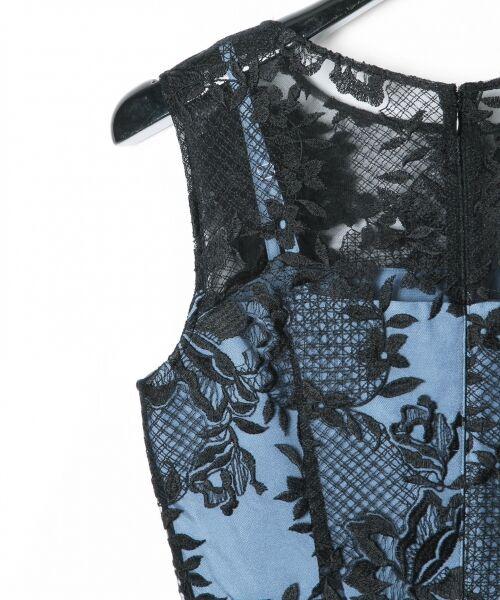 GRACE CONTINENTAL / グレースコンチネンタル ドレス | トリミングレースワンピース | 詳細19