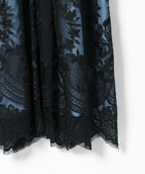 GRACE CONTINENTAL / グレースコンチネンタル ドレス | トリミングレースワンピース | 詳細20