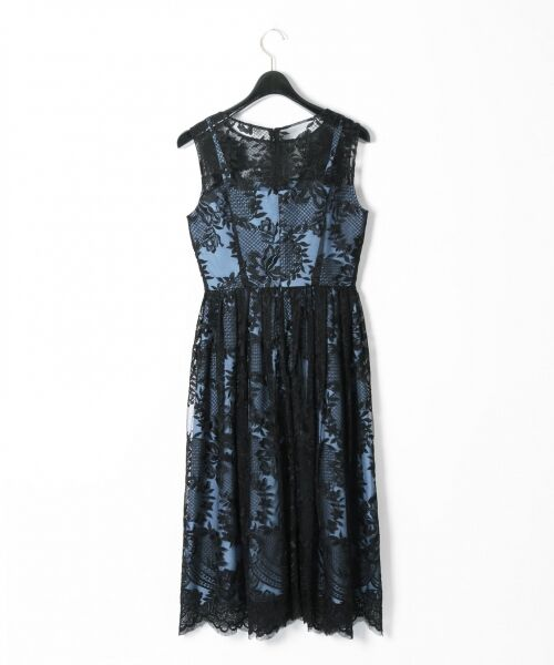 GRACE CONTINENTAL / グレースコンチネンタル ドレス | トリミングレースワンピース | 詳細21