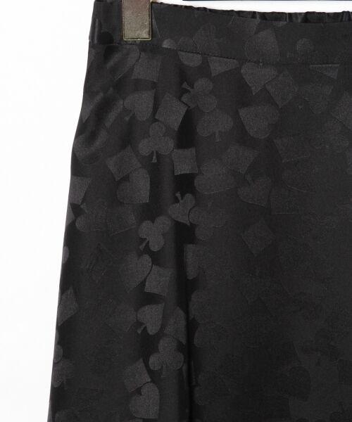 GRACE CONTINENTAL / グレースコンチネンタル ミニ・ひざ丈スカート | シルクサテンジャガードスカート | 詳細21