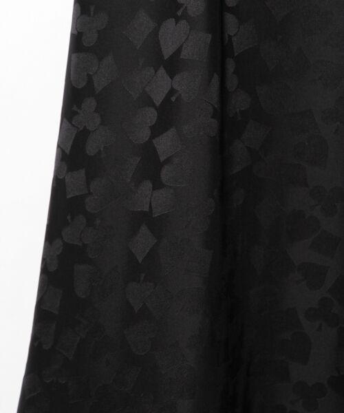 GRACE CONTINENTAL / グレースコンチネンタル ミニ・ひざ丈スカート | シルクサテンジャガードスカート | 詳細22