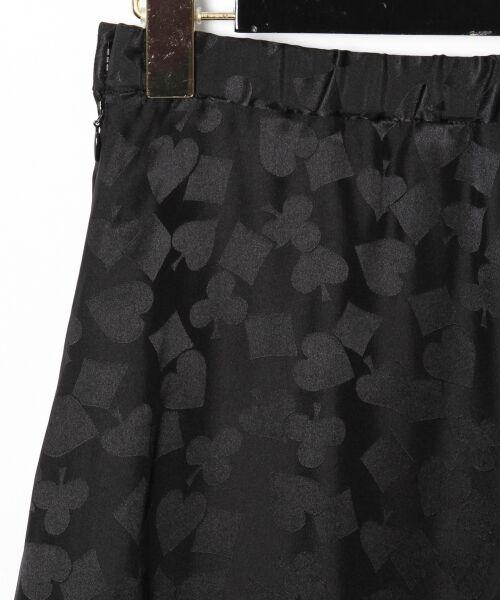 GRACE CONTINENTAL / グレースコンチネンタル ミニ・ひざ丈スカート | シルクサテンジャガードスカート | 詳細26