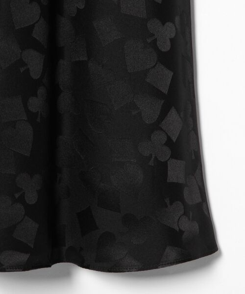 GRACE CONTINENTAL / グレースコンチネンタル ミニ・ひざ丈スカート | シルクサテンジャガードスカート | 詳細27