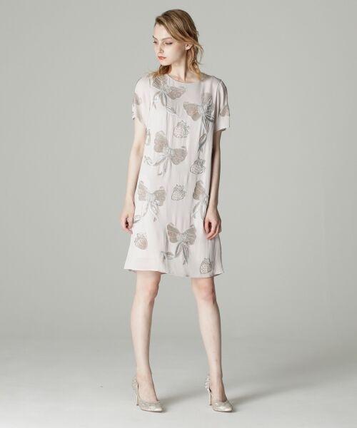 c6a42928ef614 セール リボンビジュードレス (ドレス)|GRACE CONTINENTAL ...