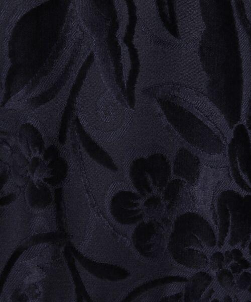 GRACE CONTINENTAL / グレースコンチネンタル ミニ丈・ひざ丈ワンピース   ベルベットジャガードワンピース   詳細12
