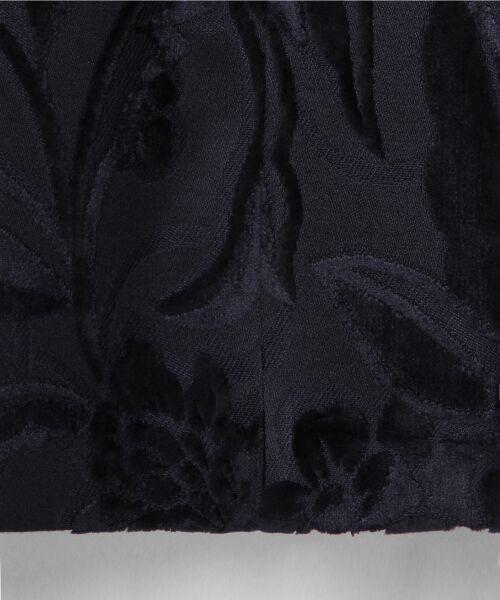 GRACE CONTINENTAL / グレースコンチネンタル ミニ丈・ひざ丈ワンピース   ベルベットジャガードワンピース   詳細16