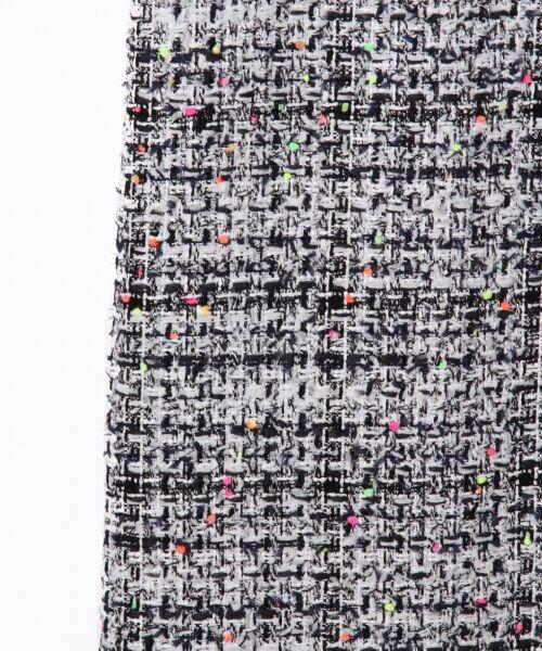 GRACE CONTINENTAL / グレースコンチネンタル ドレス | ネオンネップツイードワンピース | 詳細7