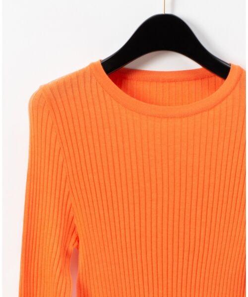 GRACE CONTINENTAL / グレースコンチネンタル ニット・セーター | クルーリブニットトップ | 詳細4