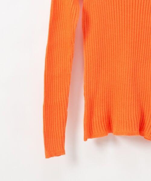 GRACE CONTINENTAL / グレースコンチネンタル ニット・セーター | クルーリブニットトップ | 詳細5