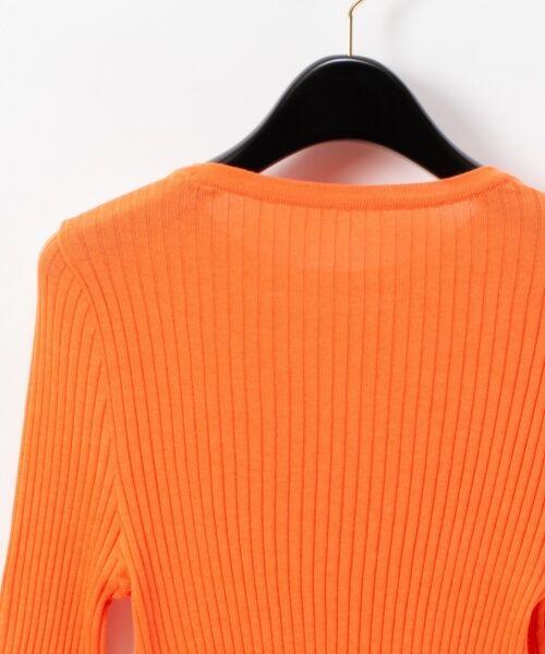 GRACE CONTINENTAL / グレースコンチネンタル ニット・セーター   クルーリブニットトップ   詳細8