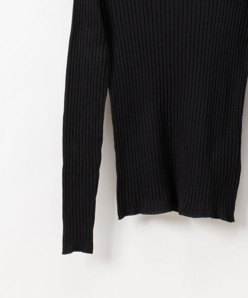 GRACE CONTINENTAL / グレースコンチネンタル ニット・セーター | クルーリブニットトップ | 詳細10