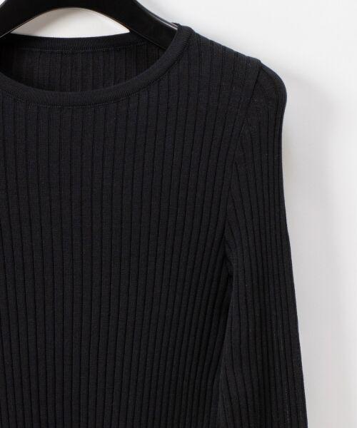 GRACE CONTINENTAL / グレースコンチネンタル ニット・セーター | クルーリブニットトップ | 詳細11