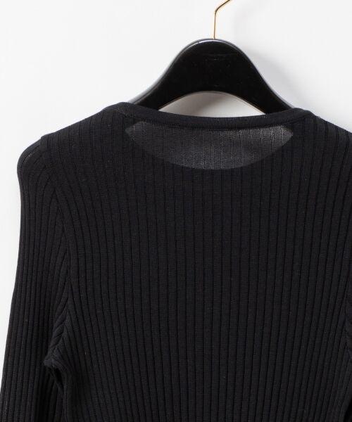 GRACE CONTINENTAL / グレースコンチネンタル ニット・セーター | クルーリブニットトップ | 詳細13