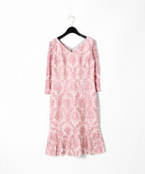 GRACE CONTINENTAL / グレースコンチネンタル ドレス | 刺繍マーメイドワンピース | 詳細4