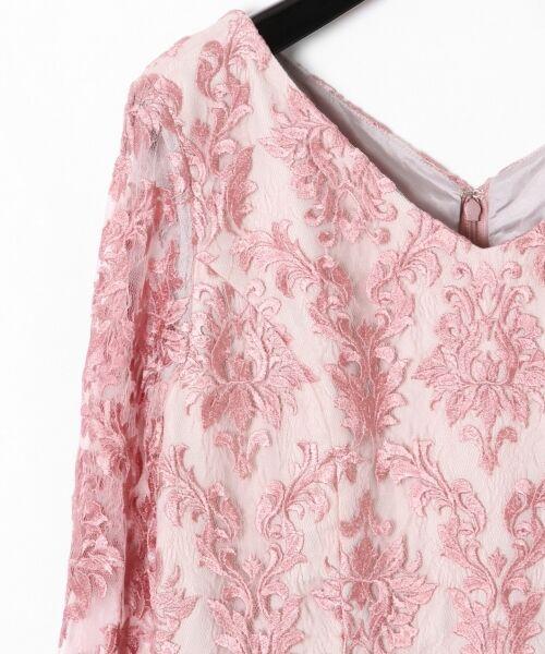 GRACE CONTINENTAL / グレースコンチネンタル ドレス | 刺繍マーメイドワンピース | 詳細5