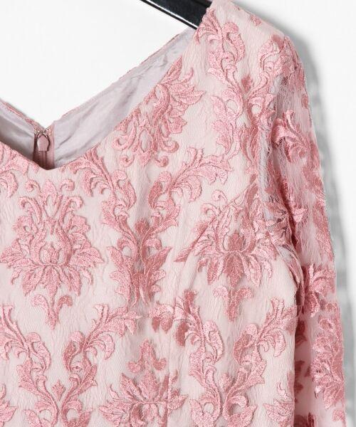 GRACE CONTINENTAL / グレースコンチネンタル ドレス | 刺繍マーメイドワンピース | 詳細6