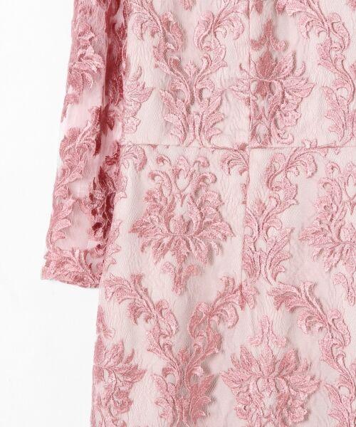 GRACE CONTINENTAL / グレースコンチネンタル ドレス | 刺繍マーメイドワンピース | 詳細7