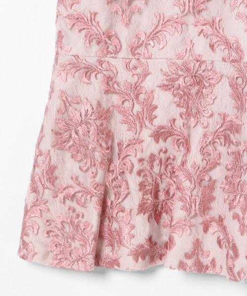 GRACE CONTINENTAL / グレースコンチネンタル ドレス | 刺繍マーメイドワンピース | 詳細8
