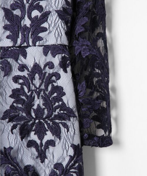 GRACE CONTINENTAL / グレースコンチネンタル ドレス | 刺繍マーメイドワンピース | 詳細12