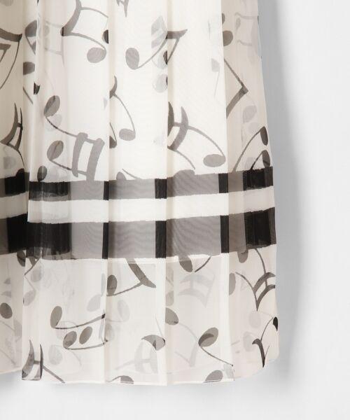 GRACE CONTINENTAL / グレースコンチネンタル ミニ・ひざ丈スカート | ompuプリーツスカート | 詳細3