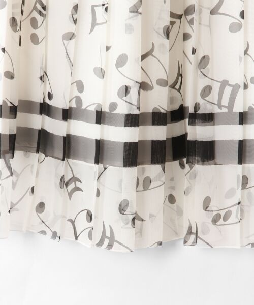 GRACE CONTINENTAL / グレースコンチネンタル ミニ・ひざ丈スカート | ompuプリーツスカート | 詳細4