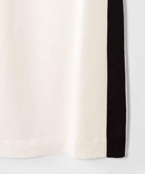 GRACE CONTINENTAL / グレースコンチネンタル ドレス   ライン配色ラッフルドレス   詳細8