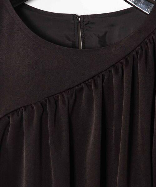 GRACE CONTINENTAL / グレースコンチネンタル ドレス   ライン配色ラッフルドレス   詳細11
