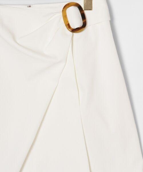 GRACE CONTINENTAL / グレースコンチネンタル ミニ・ひざ丈スカート | タックミニスカート | 詳細5
