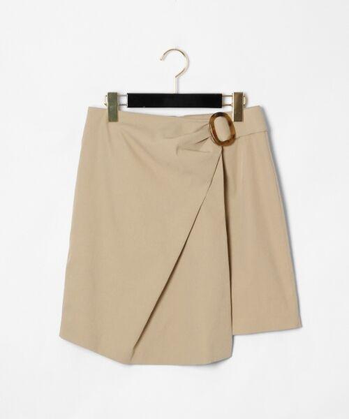 GRACE CONTINENTAL / グレースコンチネンタル ミニ・ひざ丈スカート | タックミニスカート | 詳細13