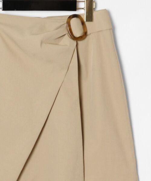 GRACE CONTINENTAL / グレースコンチネンタル ミニ・ひざ丈スカート | タックミニスカート | 詳細15