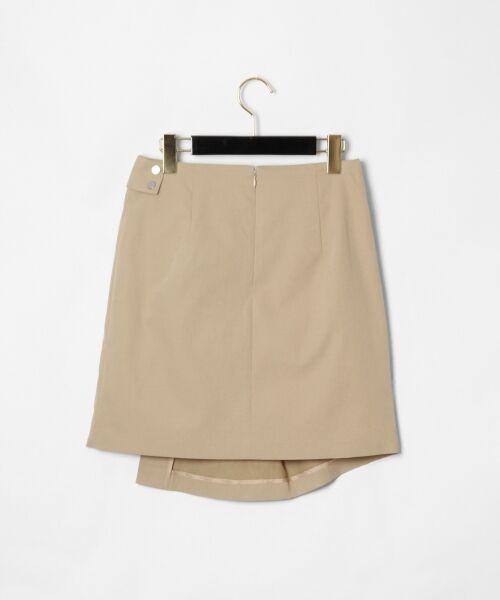 GRACE CONTINENTAL / グレースコンチネンタル ミニ・ひざ丈スカート | タックミニスカート | 詳細18