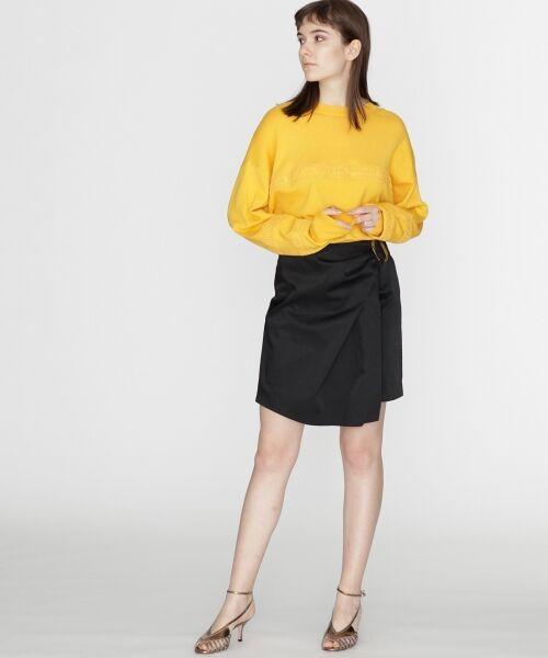 GRACE CONTINENTAL / グレースコンチネンタル ミニ・ひざ丈スカート | タックミニスカート | 詳細19