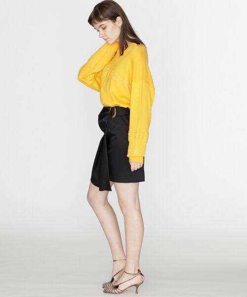GRACE CONTINENTAL / グレースコンチネンタル ミニ・ひざ丈スカート | タックミニスカート | 詳細20