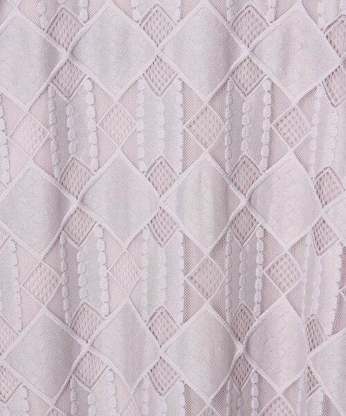 GRACE CONTINENTAL / グレースコンチネンタル ドレス | ジオメトリックレースワンピース | 詳細2
