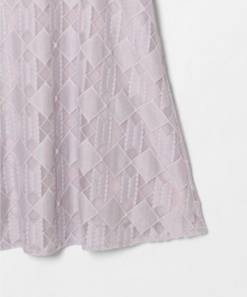 GRACE CONTINENTAL / グレースコンチネンタル ドレス | ジオメトリックレースワンピース | 詳細3