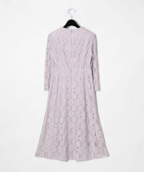GRACE CONTINENTAL / グレースコンチネンタル ドレス | ジオメトリックレースワンピース | 詳細4