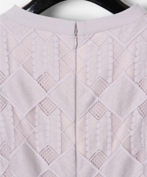 GRACE CONTINENTAL / グレースコンチネンタル ドレス | ジオメトリックレースワンピース | 詳細5
