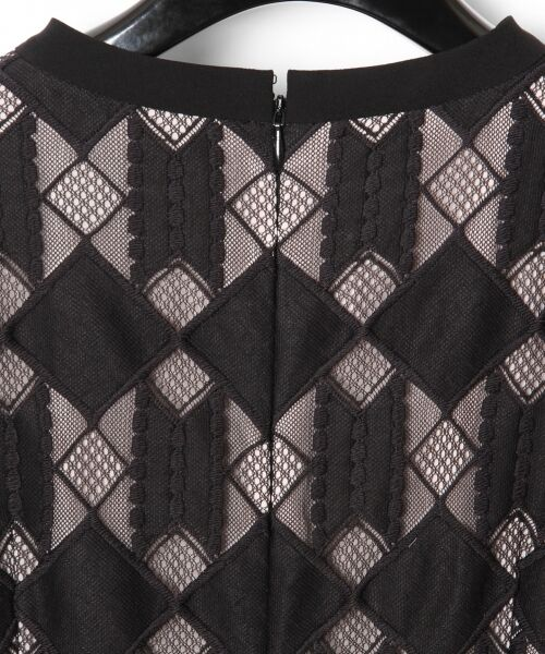 GRACE CONTINENTAL / グレースコンチネンタル ドレス | ジオメトリックレースワンピース | 詳細15